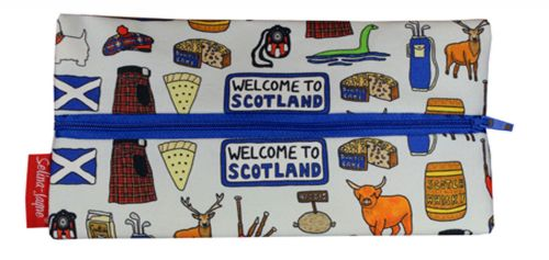 Selina-Jayne Scotland Limited Edition Designer Pencil Case